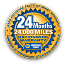 NAPA Service Warranty Badge